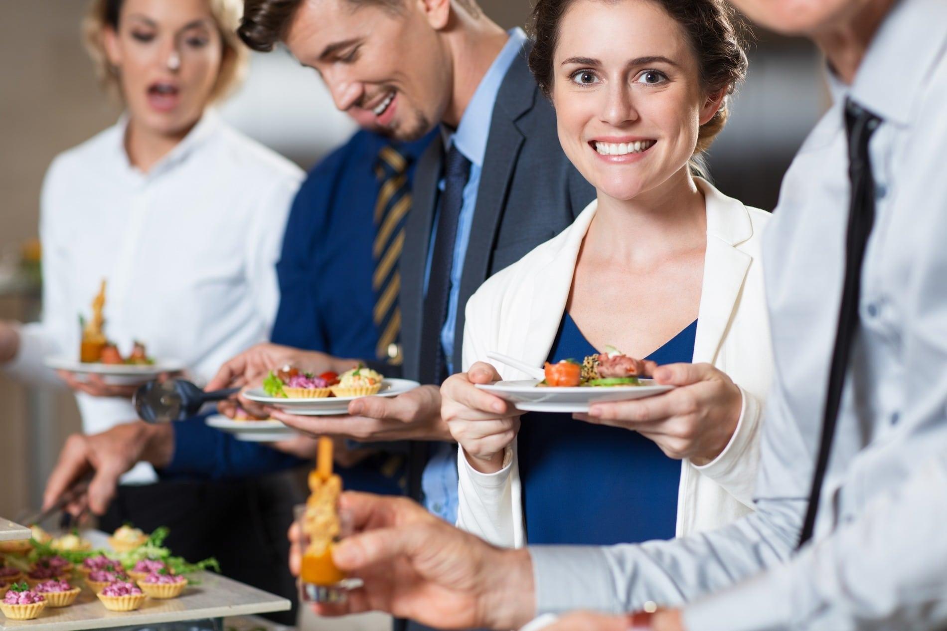 Gourmets Lyon traiteur entreprises