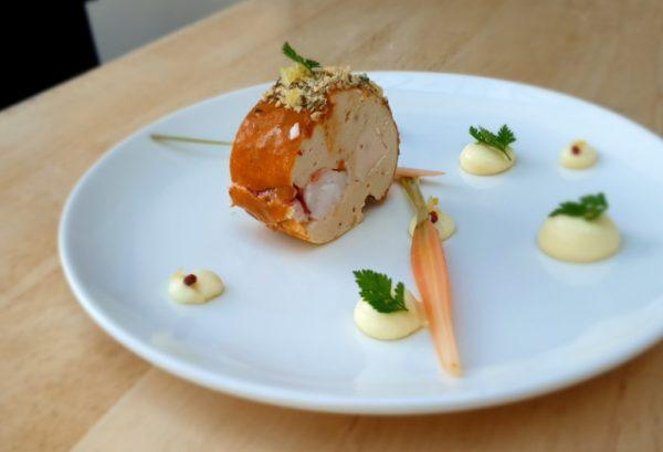 marbré de homard menu des fetes